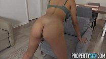 PropertySex - Sexy agent fucks her assistant's big cock image