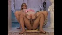 Sweet cherry in pinky lingerie touch herself to seduce her slave