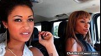 Bella Moretti and Skin Diamond showing