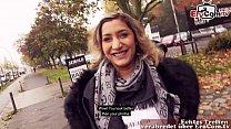Deutsch Türkin macht Straßen Outdoor Sextreffen EroCom Date echte versaute Schlampe