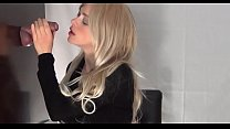 crazyamateurgirls.com - Blonde Enjoys Her In-Home Gloryhole - crazyamateurgirls.com