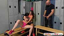 Image: Perfect ass babe Kharlie Stone and Kymberlee Annas threesome sex