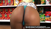14459 HD Young Big Ass Black Girl Hardcore Doggystyle In Walmart Msnovember Must Fuck Stranger To Buy Her Food Using Her Cute Ass And Little Mouth To Pay Hd Sheisnovember preview