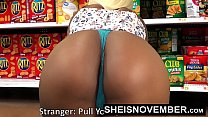 5300 HD Young Big Ass Black Girl Hardcore Doggystyle In Walmart Msnovember Must Fuck Stranger To Buy Her Food Using Her Cute Ass And Little Mouth To Pay Hd Sheisnovember preview