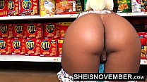 HD Young Big Ass Black Girl Hardcore Doggystyle In Walmart Msnovember Must Fuck Stranger To Buy Her Food Using Her Cute Ass And Little Mouth To Pay Hd Sheisnovember صورة