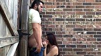 Slutty Teen Gives a Blowjob in Public Vorschaubild