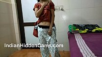 Desi Bhabhi Masturbating Fingering Herself While Home Alone