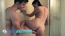 Small tit bubble butt brunette (Lindsey) makes quarentine sextape with hung bf - True Amateurs