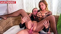 LETSDOEIT - #Lara West - Big Booty Hungarian Sex Therapy With Horny Daddy