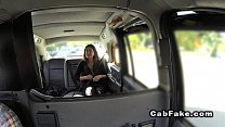 Perfect big tits babe fucked in fake taxi thumbnail