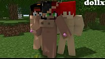Minecraft porno comic (A MEETING) created by dollx