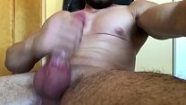 johnthebaptist monster solo cock jacking off
