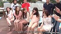 dee baker xxx • Summer Asian girls sucking on cocks in the sunny outdoors thumbnail