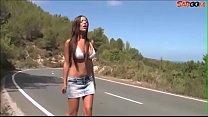 teen Hitchhiker from Ibiza gets fucked hardcore