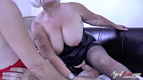 AGEDLOVE Hard Drilling Session for Mature Ladies