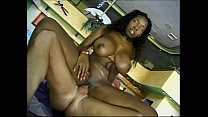 Vanessa Blue in interracial anal foursome