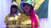 Débora Fantine Live Sexy Com Tequileira Misteriosa Gostosa na Copa