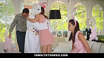 FamilyStrokes - Cute Teen (Avi Love) Fucked By Easter Bunny StepUncle