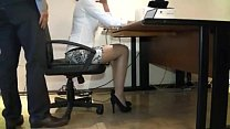 Sexy Secretary Abused by Her Boss -1 image