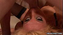 Slutty blonde Reagan Anthony massive cum facial! thumbnail