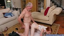 Amazing chick Dolly Little spreading her legs