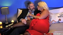 PORNSTARPLATINUM Busty MILF Alura Jenson Fucked By Older Man
