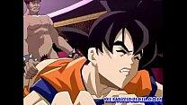 Dragon Ball Goku was fucked out while catching dragon ball