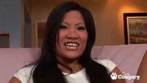 Gap Tooth Asian Christina Aguchi Sucks A Cock Dry pornhub video