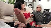 Image: Big Tit Lily Lane Cucks Her Husband By Fucking The Well Endowed Chauffeur