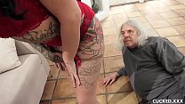 Big Tit Lily Lane Cucks Her Husband By Fucking The Well Endowed Chauffeur Image