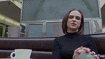 GERMAN SCOUT - FITNESS GIRL IM CAFE ANGESPROCHEN UND BEI CASTING GEFICKT Vorschaubild