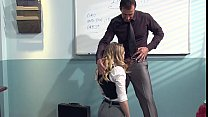Kagney Linn Karter Horny For Italian Teacher's Cock thumbnail