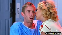 Nurse Kagney Linn Karter cures patient with anal sex preview image