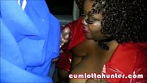 CUMLOTTA HUNTER SUCKING DICK IN PUBLIC PLACES |...