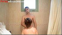 Nikki Little y Miquel Duque tienen sexo en la ducha detrás de las cámaras thumbnail