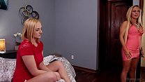 Kate England caught on her mom and her teacher Abigail Mac and Tegan James preview image