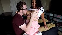 9946 Sitting on daddy's lap. Tit sucking massive cum load on daughter HD preview