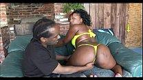 Nasty Ebony Couple Ghetto Fucking
