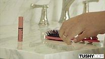 Tushy European Beauty Gapes For Her Husband's Boss
