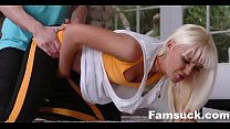 Hot Blonde Milf Stretched Out & Fucked | FamSuck.com صورة