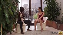 BLACK4K. Awesome interracial sex in the gym where white lassie Kristy Black