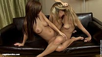 Deep fingering action with Beatrice and Angelica from Sapphic Erotica pornhub video