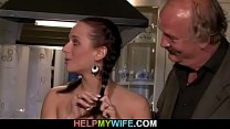 Cuckolding surprise for her