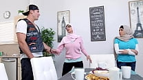 MIA KHALIFA - Stepmom Julianna Vega Challenges Step Daughter To A Fuck Contest