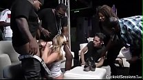 Brooke Wylde gets gangbanged in a club - crack fuckers thumbnail