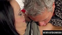 Tanned Teen Jessi Poduskova Gives an Old Man the Best Sex of His Life Image