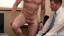 Dad and twink and doctor orgy