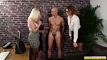 Cfnm sissy asstoyed by femdom group pornhub video