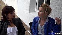 Morgane se fait dépuceler le cul avant son mariage  [Full Video] porn image