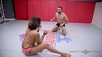 Daisy Ducati nude wrestling and hardcore fucking with Oliver Vorschaubild